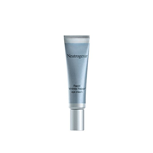 Neutrogena Rapid Wrinkle Repair Hyaluronic Acid Retinol Under Eye Cream - Anti Wrinkle Eye Cream for Dark Circles & Puffiness & Under Eye Bags - Hyaluronic Acid, Glycerin & Retinol Cream, 0.5 fl. oz