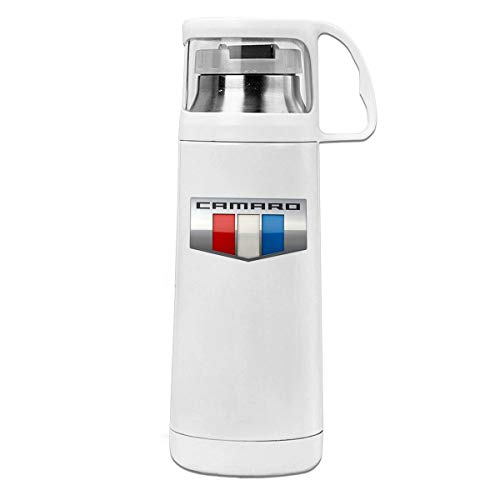 NEST-Homer Camaro Performance Car Portable Stainless Steel Thermos Cup Water Bottle Handle Vacuum Cup Tea Cup Travel Mug