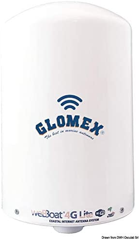 Glomex WebBoat 4G Lite WebBoat GC Life Antenna: Amazon.es ...