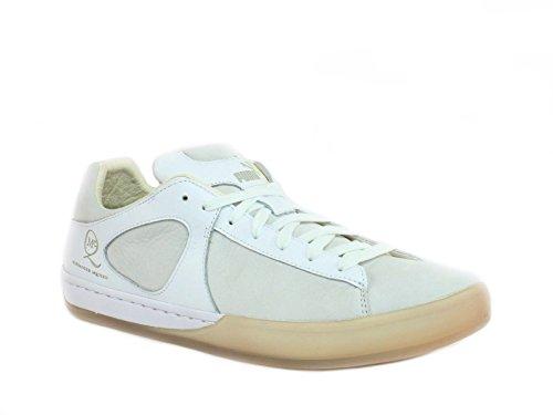 Alexander McQueen by PUMA McQ CLIMB LO Men's Fashion White Leather Sneaker Shoe