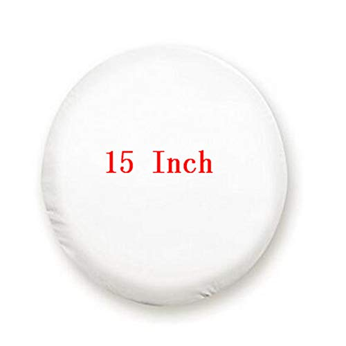 Bingo Point 1Pcs Car Pure White 13'',14'', 15'',16'',17'',18'' inch PVC PU Spare Tire Tyre Wheel Valve Cover Wheels Accessories