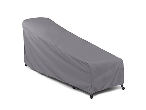 CoverMates Chaise Lounge Cover – 30W x 85D x 40H – Elite Collection – 3 YR Warranty – Year Around Protection - Charcoal