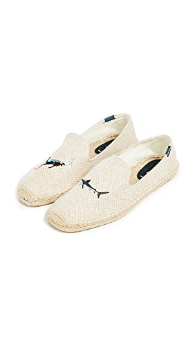 Men's Shark Smoking Cream Scuba Slipper Soludos 4W6gRnfS6