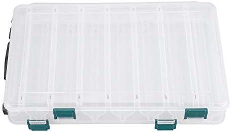 ルアーケース ルアーボックス タックルボックス 釣具収納 ルアーケース ポータブル 仕掛け小物入れ 個々のコンパートメント 持ち運び易い 釣り道具 ボックス 釣りの餌箱