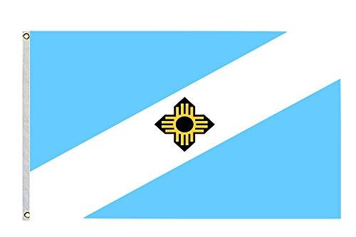 Madison Wisconsin Large Flying Flag Size 3x5 Feet]()