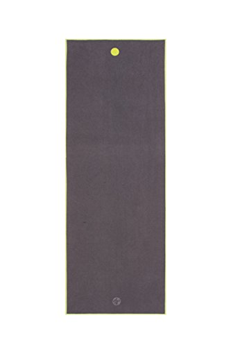 Manduka We Are One Collection Big Yoga Mat Towel, Thunder Review