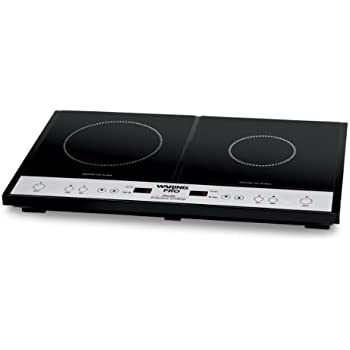 Amazon Com Waring Pro Ict400 Double Induction Cooktop