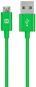 Monoprice Select Series USB A to Micro B Charge /& Sync Cable 6ft Green