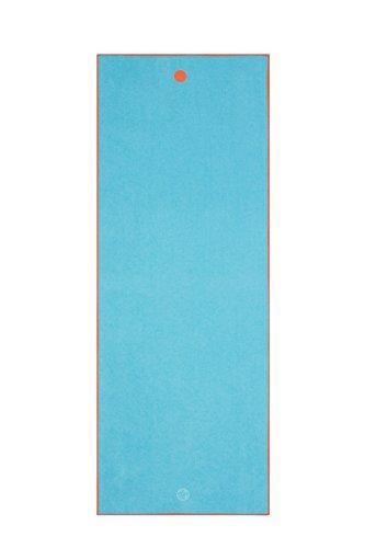 "yogitoes Yoga Mat Towel, Chakra Turquoise, 72"""