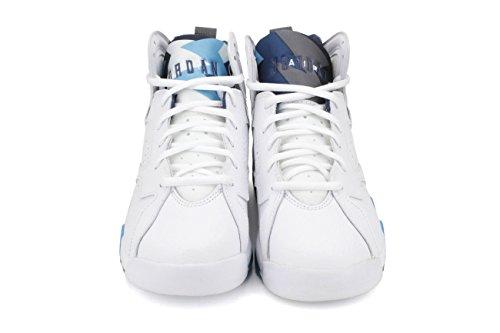 Nike , Jungen Sneaker 38.0 Blanco / Azul (Wht / Frnch Bl-Unvrsty Bl-Flnt G)