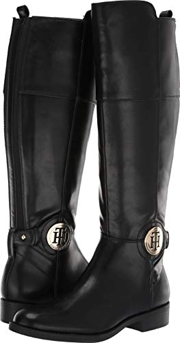 Tommy Hilfiger Women's, Idran Tall Shaft Boots Black 7.5 ()