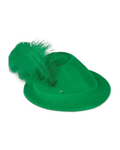 Beistle Co Hat Alpine Grn W/Feather from Beistle
