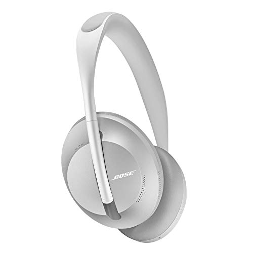 Auriculares inalámbricos Bluetooth Bose Noise Cancelling Headphones 700, con control por voz de Alexa, Plata