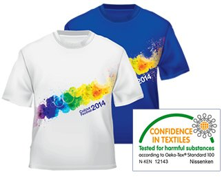 SINUS ART® Havet Er Vor Skæbne Herren T-Shirts stilvolles royal blaues Fun Shirt mit tollen Aufdruck