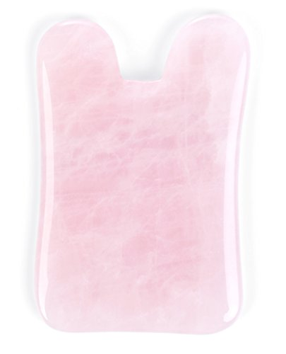 PEARLY Pink Rose Quartz Gua Sha Board-Therapeutic Relief and Skin Renewal -Premium All Natural Handmade Healing Stone Gua Sha Scraping Facial Massage Tools [Square Shape] (Massage Prostate Tool)