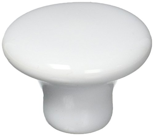 "Ultra Hardware 41635 1.5"" Traditions Ceramic Mushroom Knob"