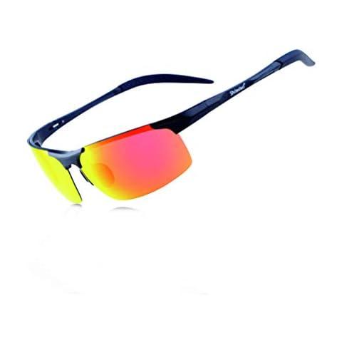 c84ba5ace46 Amazon.com   HODGSON Polarized Sports Sunglasses with 5 ...