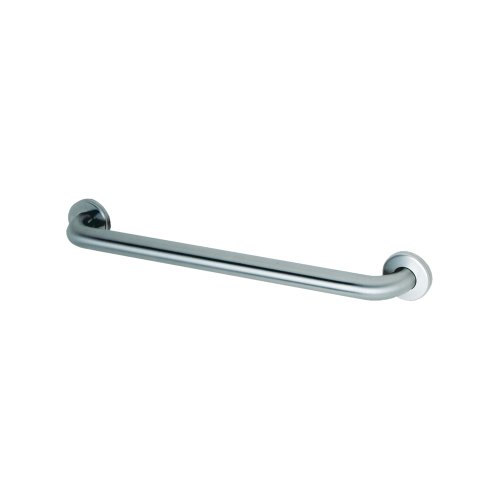 Bobrick B-6806x42 Concealed Mounting Grab Bar with Snap Flange, Satin (Bars 0.125')