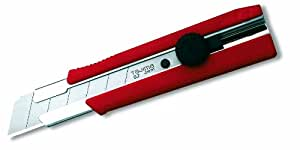 "Tajima LC-650 Rock Hard Dial Lock Utility Knife with 1"" - 7 point Rock Hard blade"