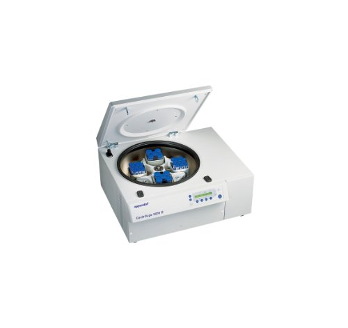 Eppendorf 022628168 5810R Refrigerated Centrifuge with 4 x 250mL Swing-Bucket Rotor, 15/50 mL Adapters, 115 V/60 Hz