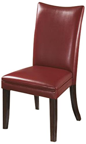 Ashley Furniture Signature Design Charrell Dining Uph Side Chair Red Set Of 2
