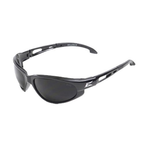 - Edge Eyewear TSM216 Dakura Polarized Safety Glasses, Black with Smoke Lens