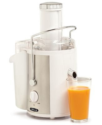 BELLA 13454 Juice Extractor, White with Stainless Steel 700Watts!