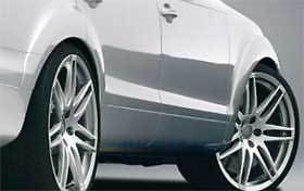 Caractere OEM Audi Q7 4L/4L9 Fender Extension Wheel Arch Extensions Kit Set Of 6 Caractere Body