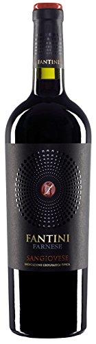 6x 0,75l - 2015er* - Farnese Vini - Fantini - Sangiovese - Terre di Chieti I.G.P. - Abruzzen - Italien - Rotwein trocken