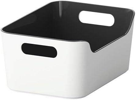IKEA VARIERA – Caja, Color Negro: Amazon.es: Hogar
