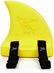 WIngots Girls/Boys Shark Swim Fin Swim Ring Float Swim Aid Pool Swimming Aid Fin for Kid