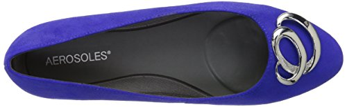 Aerosoles Womens Park Park Slip-on Mocassins Daim Bleu