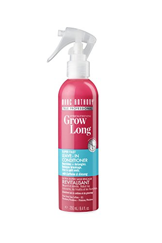 Marc Anthony Strengthening Grow Long Super Fast Strength Leave-in Conditioner, 8.4 Ounce (Best Products To Grow Hair Longer Faster)