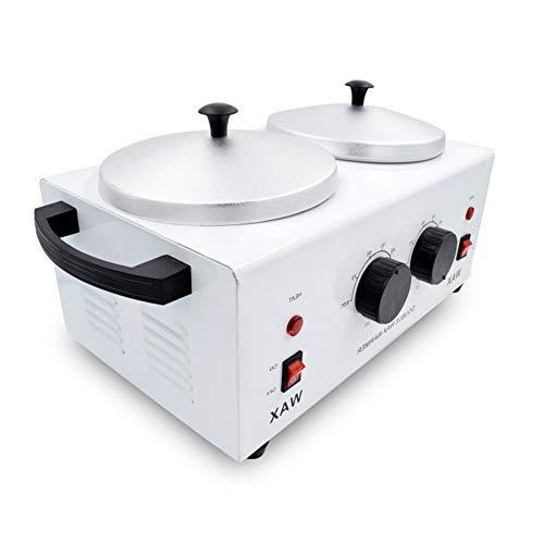 Wax Heater 1000ml Wax Warmer Beauty Machine Double Pot Professional Salon Equipment Hair Removal from Beauty AGL