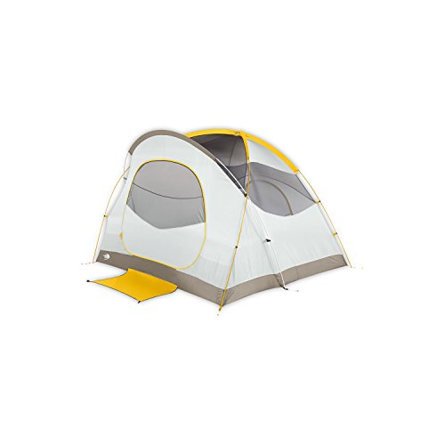 The North Face Kaiju 4 Tent - Arrowwood Yellow/Monument Grey
