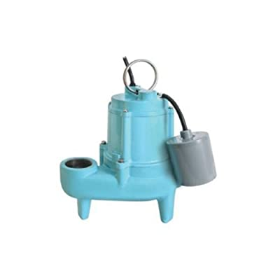 Little Giant 509204 9SN-CIA-RF Submersible Effluent Pump, 110 Gallons Per Minute