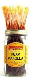1 X Pear Vanilla - 100 Wildberry Incense Sticks