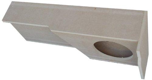 Audio Enhancers SGMX65R12 Chevrolet GMC 1500/ 2500HD/ 3500HD Extended Double Cab 2007-2016 Subwoofer Sub Speaker Box (08 Silverado Sub Box)