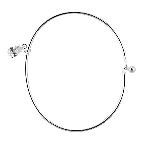 Women girl Silver Plated Neck Chic ( Silver )- - 8