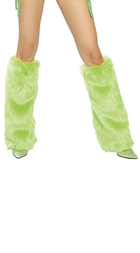 Sexy Martini Costumes (J. Valentine Women's Apple Martini Green Basic Leg Warmer, Apple, One Size)