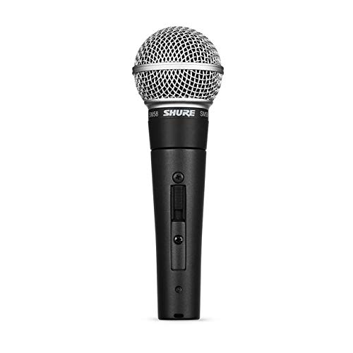 Shure SM58S Vocal Microphone (with On/Off Switch)