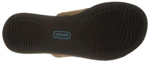 Softwalk Damen Tillman Kleid Sandale Tan weiches Nappaleder
