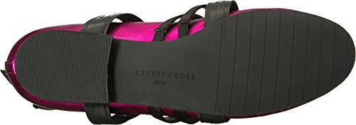 Strap Cole With womens Wade Pink Flat Detail York New Satin Multi Ballet Kenneth pnq8xwZCq