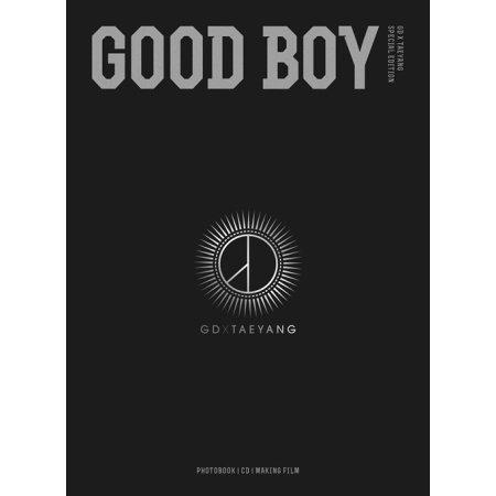 GD X TAEYANG [GOOD BOY Special Edition] Photobook + CD + Deskpad K-POP Sealed