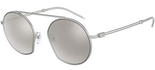 Amazon.com: Emporio Armani EA 2078 Silver/Silver 50/19/140 ...