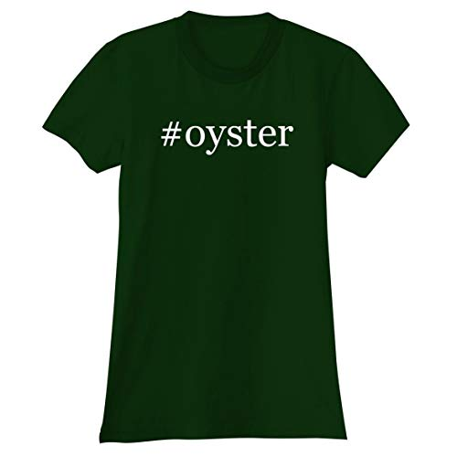(The Town Butler #Oyster - A Soft & Comfortable Hashtag Women's Junior Cut T-Shirt, Forest, XX-Large)