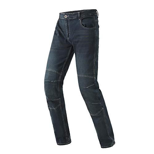 WildBee Denim Motorcycle Blue Riding Pants Men Trousers Off-Road Racing Jeans Racing