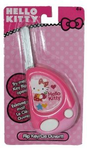 Hello Kitty Toy Flip Key with Button Activated Sounds