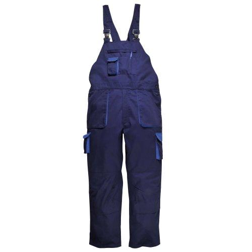 Portwest Contrast Bib & Brace/Workwear (L x Regular) (Navy)