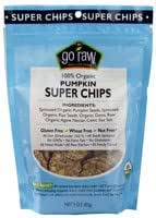Go Raw Pumpkin Super Chips -- 3 oz